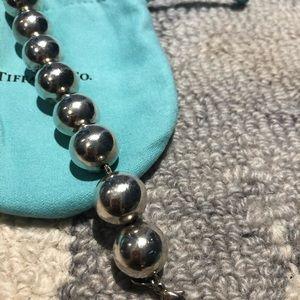 Tiffany & Co large 14mm beaded bracelet